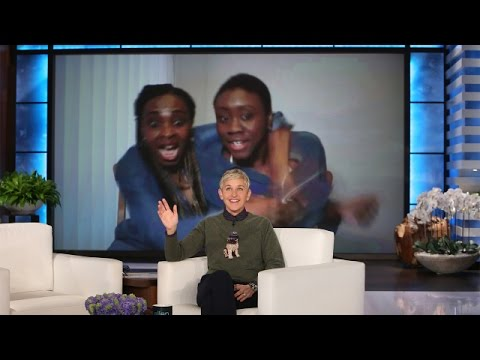 Ellen Surprises a Sweet Single Mother and Daughter