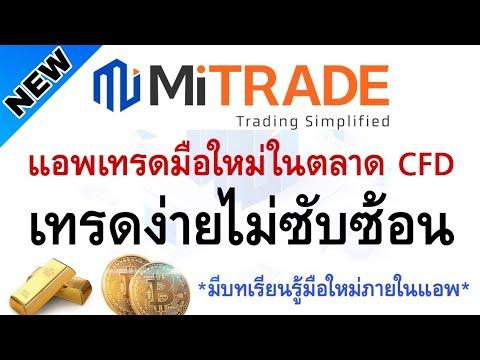Mitrade-ทางเลือกสำหรับเทรดCFD-