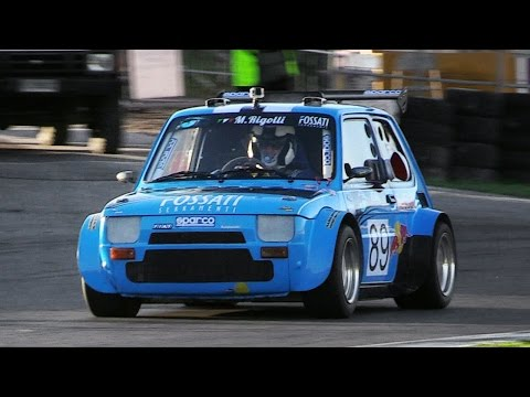 Little Proto P2 Cars w/ Motorbike Engines Racing on Track – Twingo, Fiat 126, X1/9  Mre!!