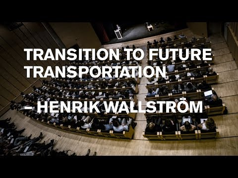 Henrik Wallström: Self-driving and all-electric transports – The role of the T-pod in the future