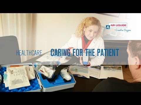 Home healthcare - Caring for the patient