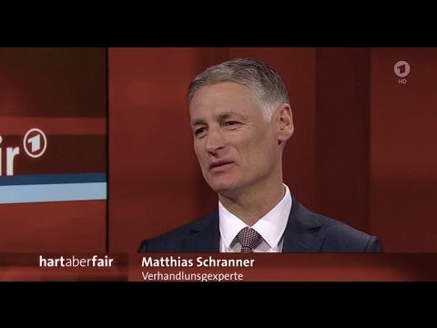"""Matthias Schranner bei """"Hart aber fair"""" (ARD)"""