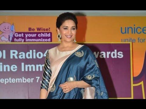 Madhuri Dixit At Unicef India's Radio4child Awards