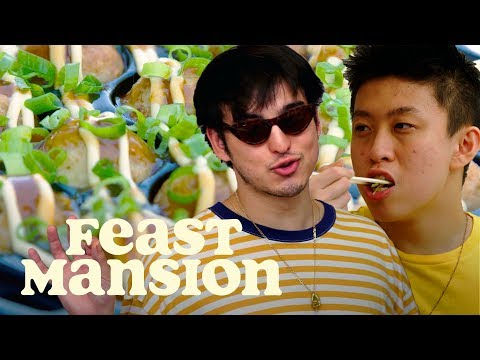 Feast Mansion S1: E#5 - Joji and Rich Brian Make a Classic Japanese Street Food | Feast Mansion