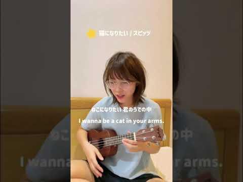 ♪ 猫になりたい / スピッツ #shorts #spitz #japanesesong