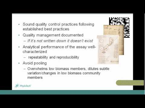 PhyloTech Webinar - Designing a Microbial Biomarker Discovery Study - Part 2