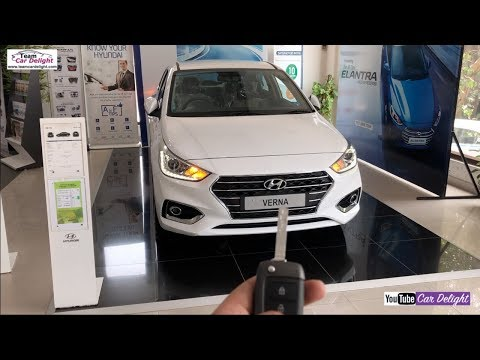 Hyunda Verna 2018 Sx Model Detailed Review With On Road Price | Team Car Delight