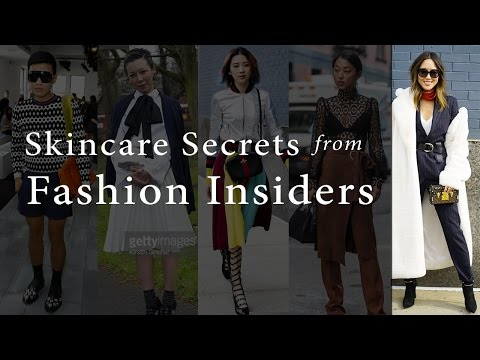 Chriselle asks Fashion Insiders their skin secrets w/ SongofStyle, Margaret Zhang & more