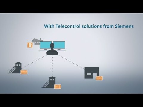 Telecontrol - Efficient solutions for industrial plants
