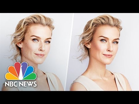 CVS To Ban Retouched Photos From Their Advertisements | NBC News
