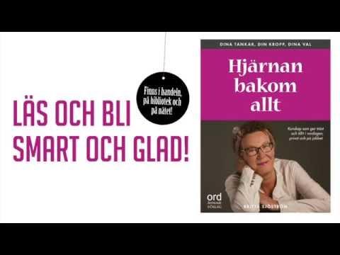 Boktrailer. Hjärna bakom allt av Britta Sjöström