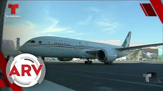 AMLO busca rifar avión presidencial y ya cuenta con varios interesados   Al Rojo Vivo   Telemundo