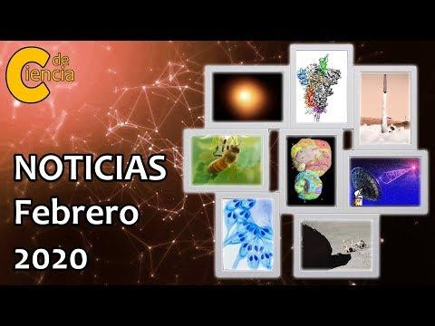 Noticias científicas febrero 2020