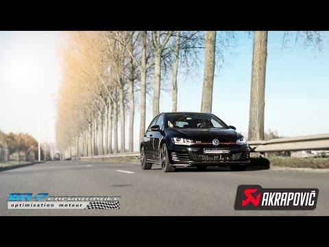 VW Golf VII GTI 2.0 TSI Akrapovic installation By BR-Performance