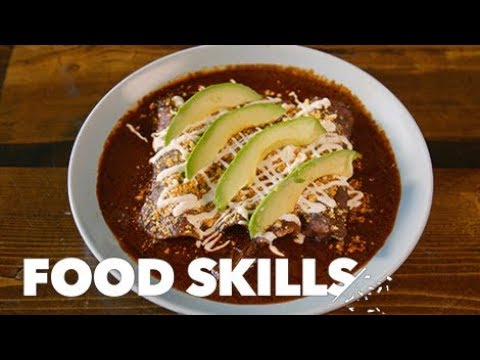connectYoutube - These Enchiladas Are a Taste of Real Mexican Home-Cooking   Food Skills