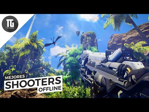 TOP 10 Mejores SHOOTERS OFFLINE para Android