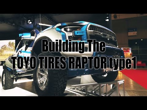 Building The TOYO TIRES RAPTOR type1 | TOYO TIRES