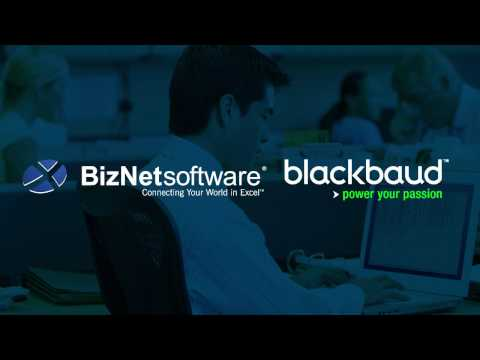 BizInsight for Blackbaud NXT at bbcon 2016