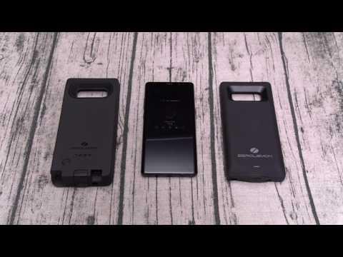 Samsung Galaxy Note 8 - Zerolemon 10,000mAh Extended Battery Case