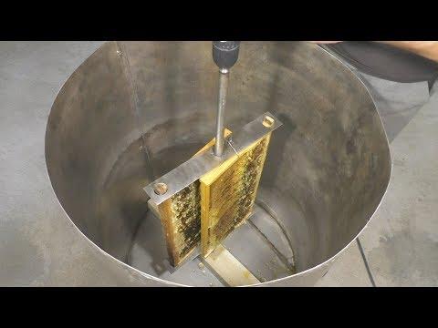Как сделать самую простую медогонку(simple honey extractor) photo