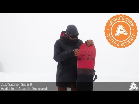 2016 / 2017 | Salomon Super 8 Snowboard | Video Review