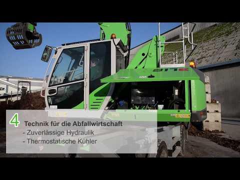 SENNEBOGEN 817 Produktvideo - der Umschlagbagger für die Recyclingindustrie