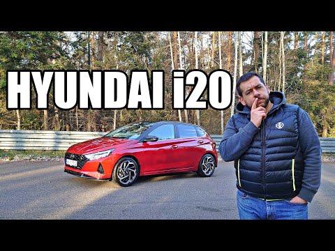 Hyundai i20 2021 - zmysłowa sportowość (PL) - test i jazda próbna