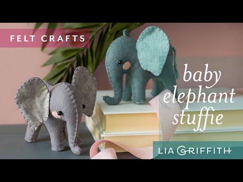 How To Sew A Felt Elephant