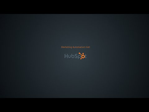 Blinker presenteert Hubspot: Inbound Marketing & Marketing Automation