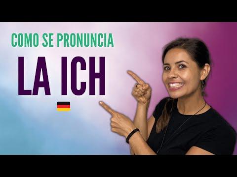 Cómo se pronuncia la -ich / Alemán básico con Whitney