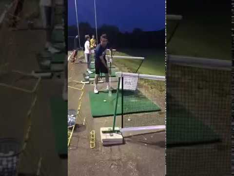 Happy Gilmore at the Driving Range