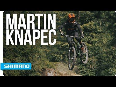 Bike Talk - Martin Knapec rides brand new XT  | SHIMANO
