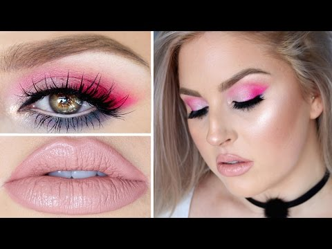 Beauty Killer Tutorial ? Colorful Hot Pink, Lilac & Teal Eyes!