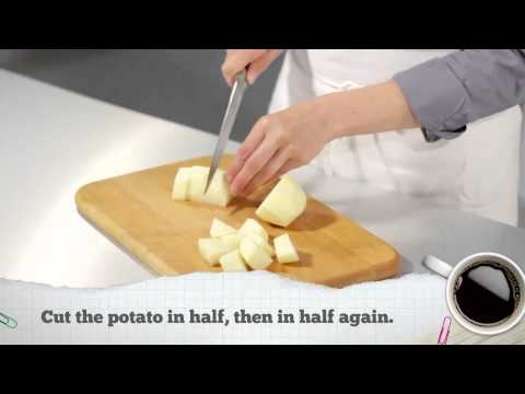 Potato 101: Chopping Potatoes