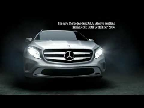 LiveRestless with the new GLA-Class