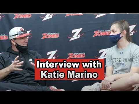 Katie Marino talks about her softball and life Journey