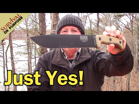 Is The ESEE Junglas The Best Large Knife For Survival? - Sharp Saturday