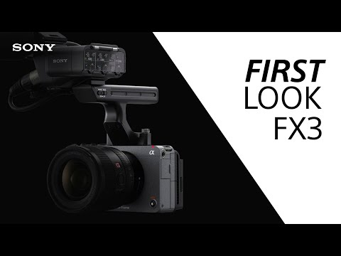 FIRST LOOK: Sony FX3 / Official announcement and event