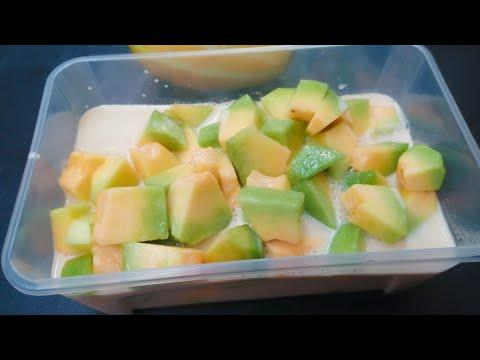 น้ำกะทิแตงไทย-กะทิเข้มข้นหวาน