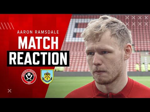Aaron Ramsdale | Match Reaction Interview | Sheffield United 1-0 Burnley