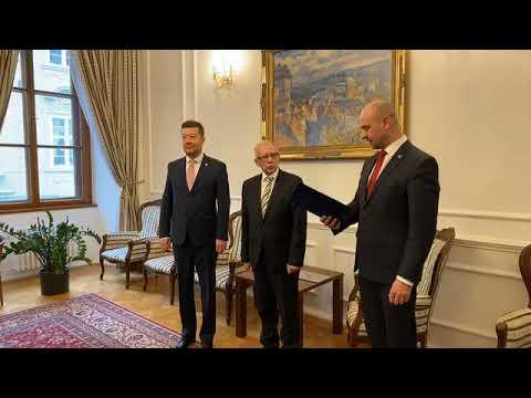 Tomio Okamura: Jmenování JUDr. Stanislava Křečka do funkce veřejného ochránce práv – ombudsmana.