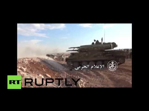 RAW: Full-scale military operation launched by Syria to retake city of Hamah from ISIS
