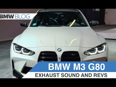 2021 BMW M3 (G80) - Exhaust, Revs and A Very Special Color