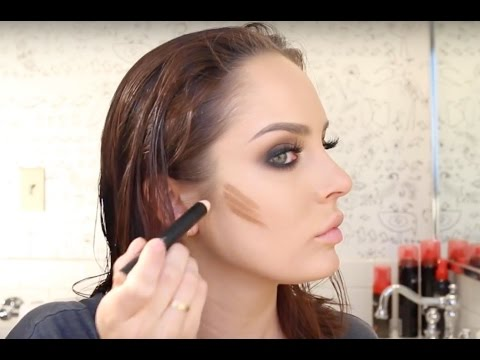Grunge Smokey Eye Get Ready With Me \ NYFW Hair & Makeup