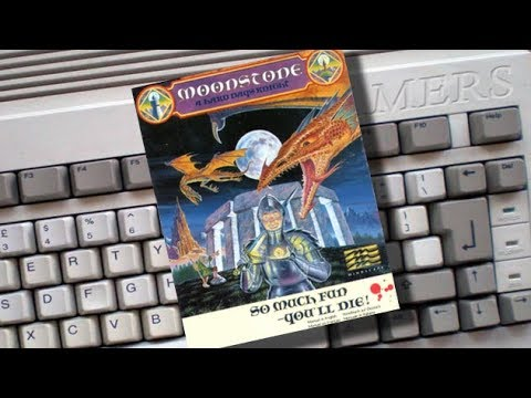 Amigamers Review #02 Moonstone  A Hard Days Knight
