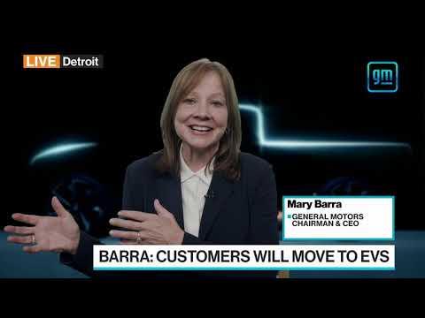 GM CEO Barra on First Quarter, Chip Shortage, EVs