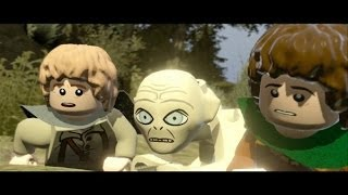LEGO Lord of the Rings Walkthrough Part 8 - The Dead Marshes