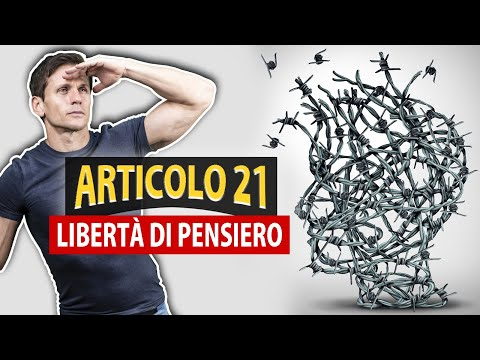 ARTICOLO 21: il lato nascosto della libertà di pensiero | Avv. Angelo Greco