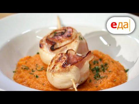 Морковный суп с куриными рулетами, блины с топингом   Дежурный по кухне