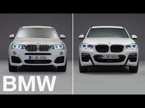 BMW vs BMW : BMW X3 vs X3. 2nd vs 3rd generation.